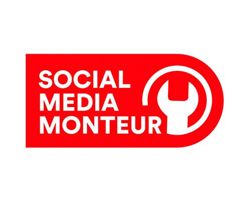 Logo Social Media Monteur