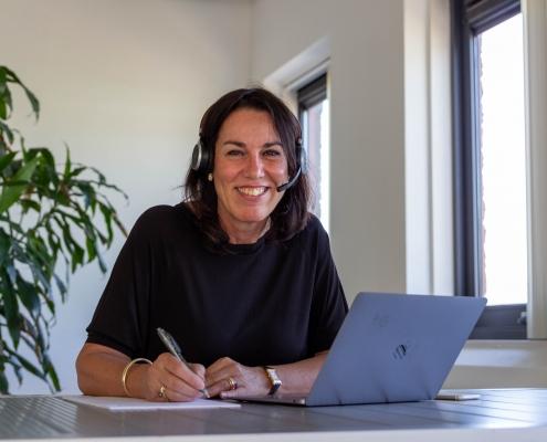 Joan geeft webinar