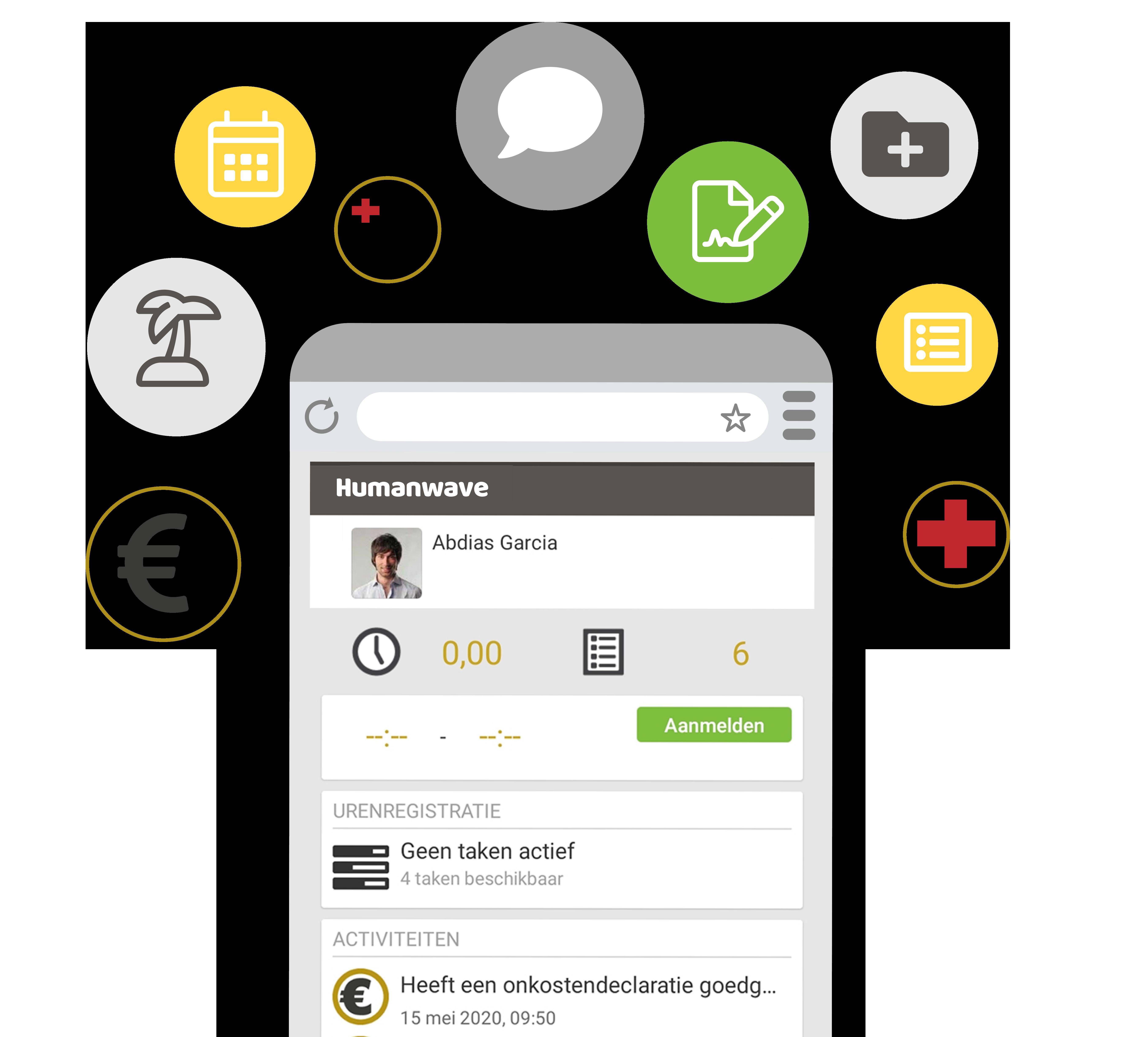 Medewerker app ESS
